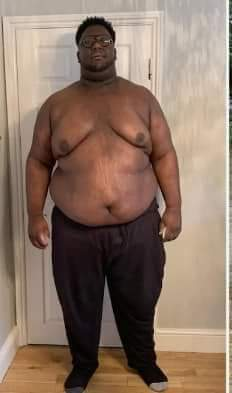 Young Man Narrates His Weight Loss Journey (Photos)