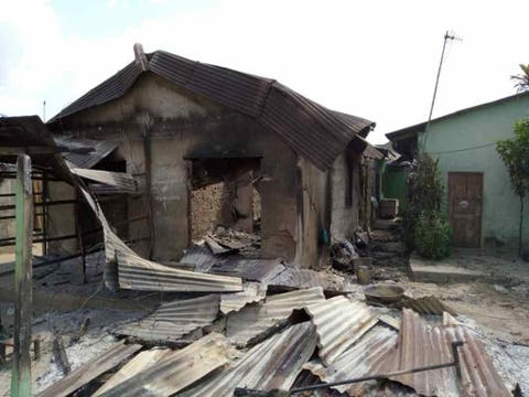 Cult Clash in Delta State leaves many dead, properties destroyed (Photos)