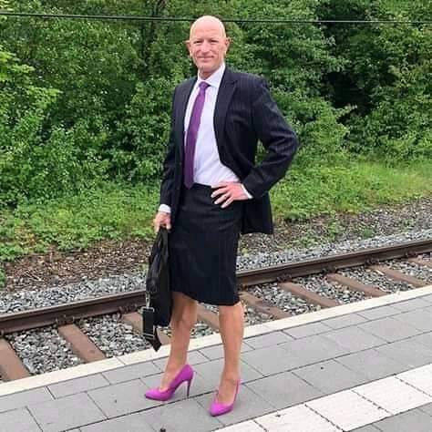 Man Who's Always On Skirts And Heels But Doesn't Wear Trousers Or Shorts (Photos)