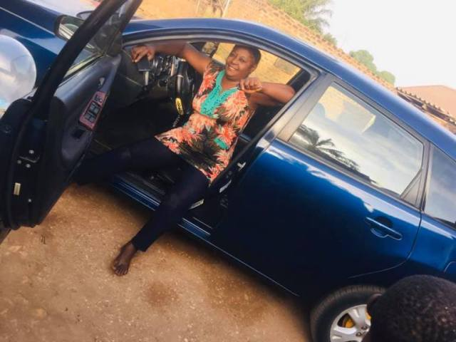 You Had One Wrapper Only When Your Mates Were Buying Holandis — Lady Writes As She Buys Car For Her Mom (Photos + Videos)