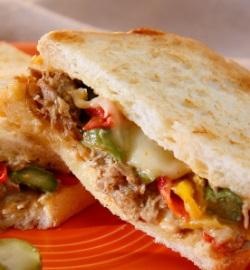 スタバのフード「プルド ポーク サンドイッチ」
