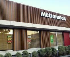 マクドナルド店舗