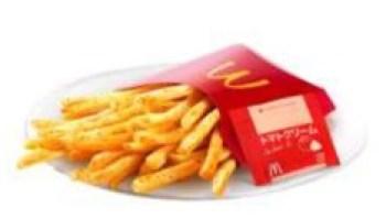 マクドナルド「シャカシャカポテトトマトクリーム」