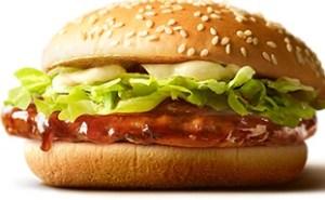 マクドナルドのてりやきマックバーガー