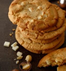 スタバの新作2017年1月フード「ホワイトチョコレートマカダミアクッキー」
