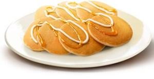 朝マック「プチパンケーキりんご&クリーム」