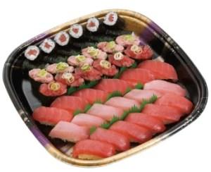 かっぱ寿司「まぐろ三昧(3人前)」