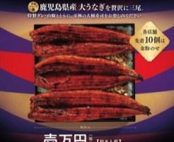 かっぱ寿司「うな重1万円」2017年