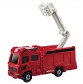 ハッピーセット「トミカ・モリタ13mブーム付き多目的消防ポンプ自動車MVF」2019年4月