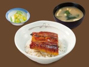 松屋「うな丼(うなぎ)」2019年7月9日