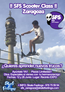 Cartel Clases Scooter Junio 2016 A4
