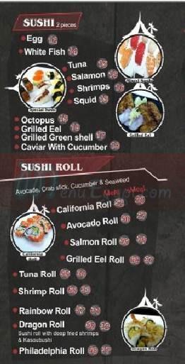 Sushi Restaurants 6th October