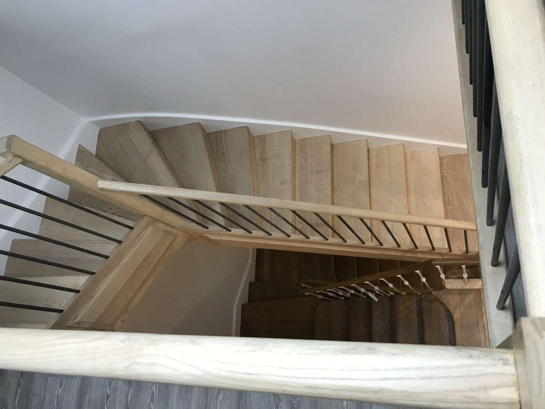Escaliers Frêne et chêne