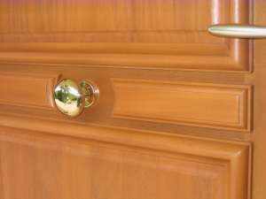 Poignée de porte et bouton