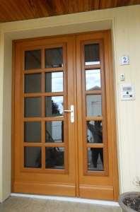 Porte tiercé bois