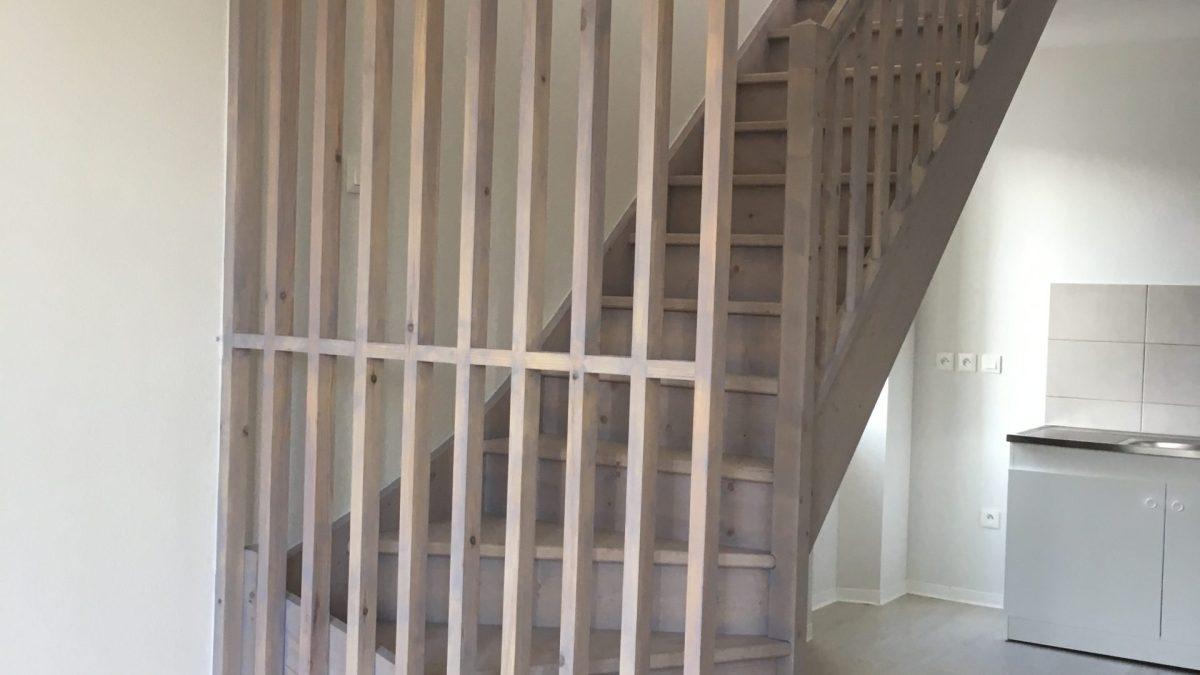 Escalier et Garde corps en bois