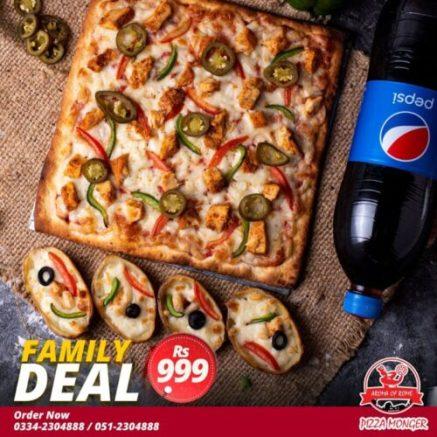 Pizza Monger Islamabad Deals