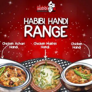 Habibi Restaurant Menu Card 1