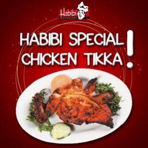 Habibi Restaurant Menu Card 2