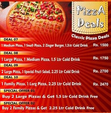 Pizza Mart Zafar Hotel Deals 2