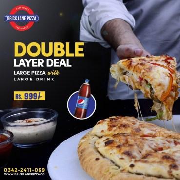 Bricklane Pizza Karachi Deals