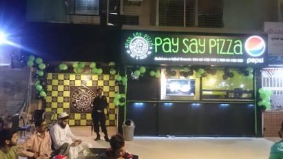 Pay Say Pizza Pics