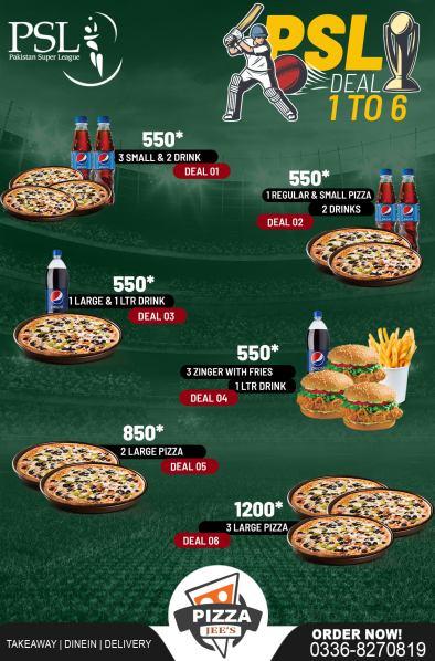 Pizza Jees PSL Deals