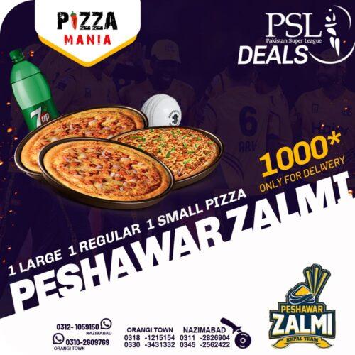 Pizza Mania PSL Deals 1