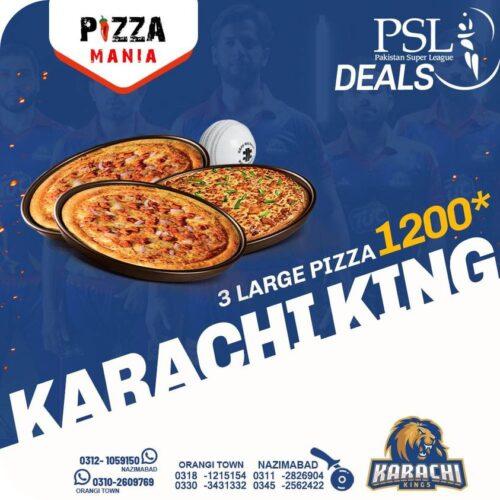 Pizza Mania PSL Deals