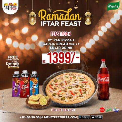 14th street pizza Iftar
