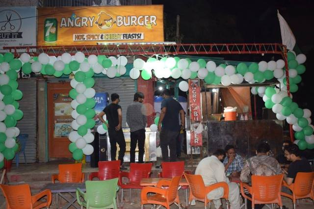 Angry Burger North Nazimabad Pics