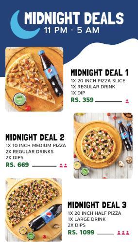 Broadway Pizza Midnight Deals