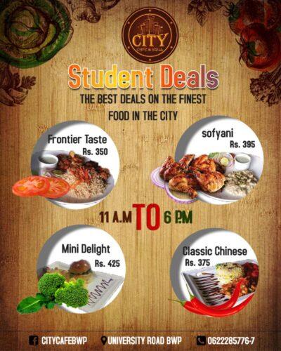 City Cafe & Grill Deals