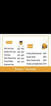 Food Punch Menu Prices Soup