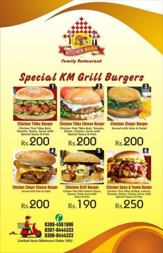 Kitchen Mania Menu Prices 3