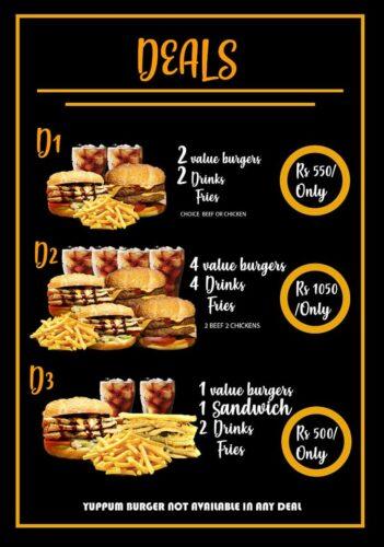 O My Burger deals