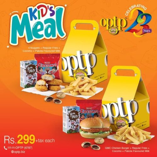 OPTP kids Meal