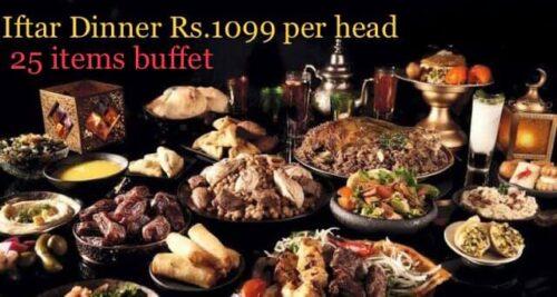 Cafe Chaiwala Best Ifatr Buffet