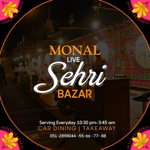 Monal Sehri Buffet