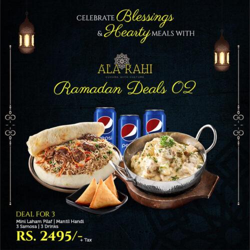 Ala Rahi Iftar Dealss
