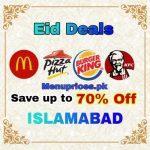 Best EID Deals In Islamabad