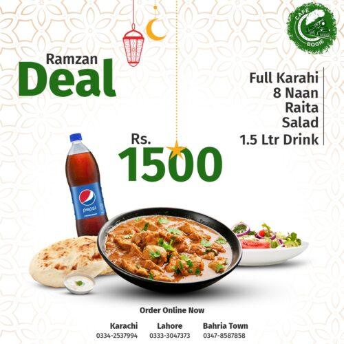 Cafe Bogie Ramadan Deal