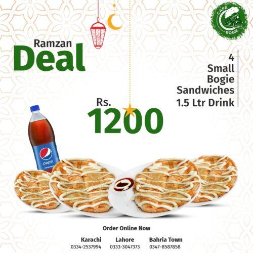 Cafe Bogie Ramadan Deals