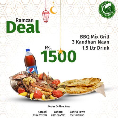 Cafe Bogie Ramadan Dealss