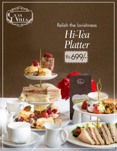 Casa Villa platter