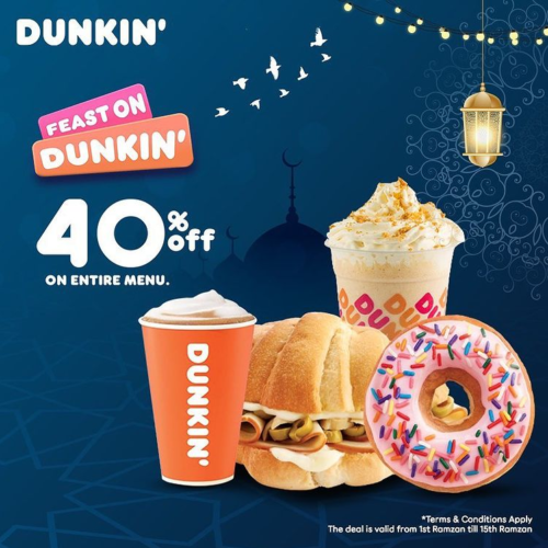 Dunkin Donuts Ramadan Feast