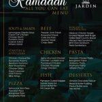 Jardin Restaurant Ramadan Deals