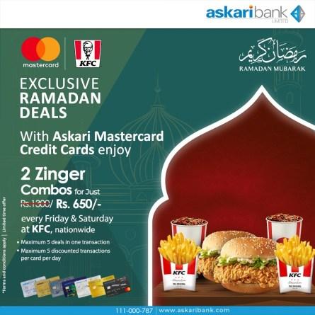 KFC Askari Bank Deal 2021