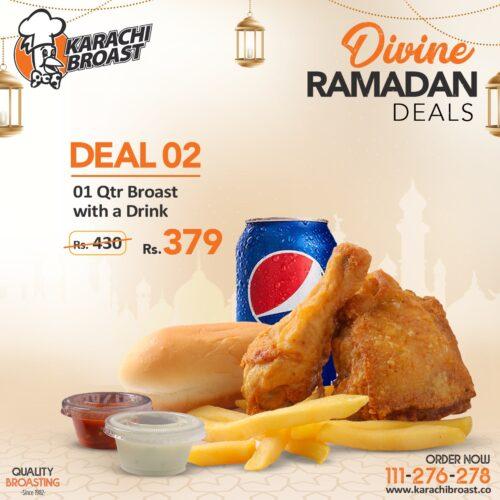 Karachi Broast Ramadan Deal