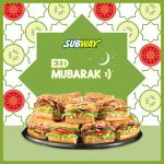 Subway Eid Offer 2021